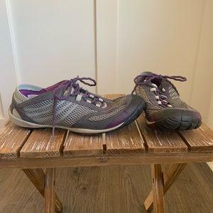 Merrell hiking shoes pace glove dark shadow 8.5
